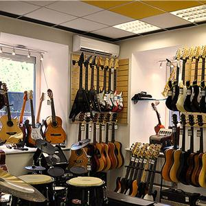 Музыкальные магазины Курганинска